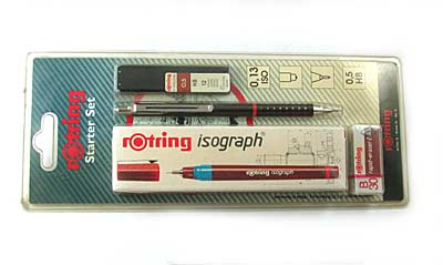 "Набор чертежн. ""Rotring - Starter""- 0.40мм Germany арт.0119-025-40"