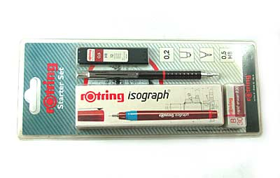"Набор чертежн. ""Rotring - Starter""- 0.30мм Germany арт.0119-025-30"