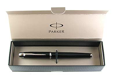 Перо Parker IM Black CT S-0856180 (черн) арт.0155-191