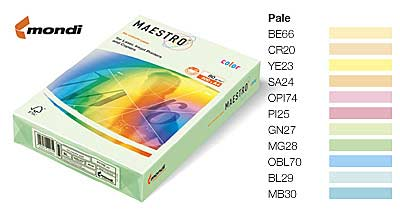 Бумага А4 Maestro/IQ Color-66 500л (PS-ваниль) уп5 арт.0215-054
