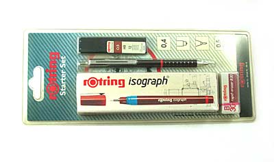 "Набор чертежн. ""Rotring - Starter""- 0.13мм Germany арт.0119-025-13"